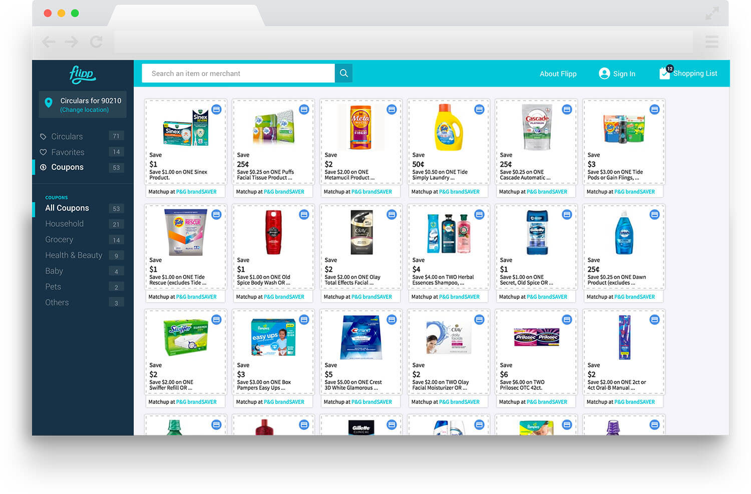Flipp Your Local Weekly Ads Coupons