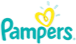 logo of pampers brand